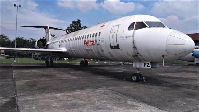 Pesawat Bekas Pelita Air Dijual Rp 5,3 Miliar di Tanggerang