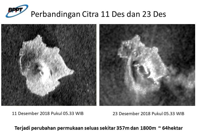 Citra Satelit Anak Krakatau (NOT COVER)
