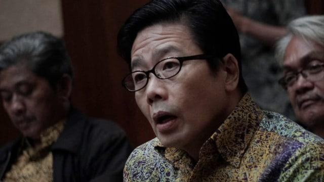 Dirut PT Borneo Lumbung Energi & Metal, Samin Tan di Pengadilan Tipikor