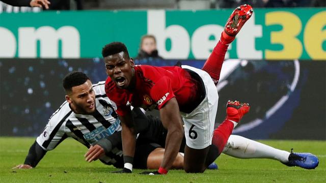 Pertandingan Manchester United vs Newcastle United