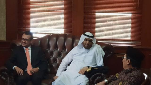 Plt Dubes Arab Saudi, PBNU