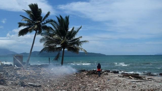 Pasca tsunami selat sunda