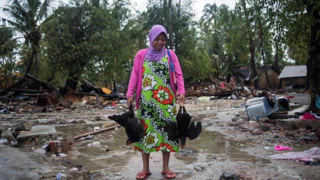 Korban Tsunami Selat Sunda Masih Butuh Bantuan Alat Dapur hingga Kasur (159044)