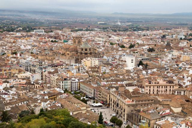 Pemandangan Kota Granada