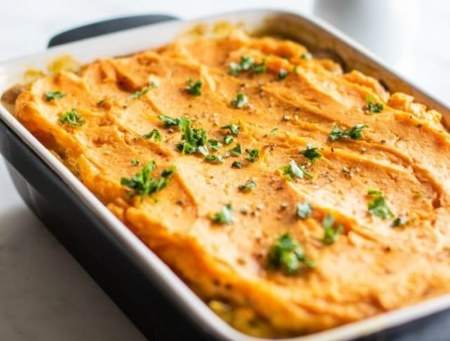 Resep turkey sweet potato dari mealpreponfleek.tumblr.com