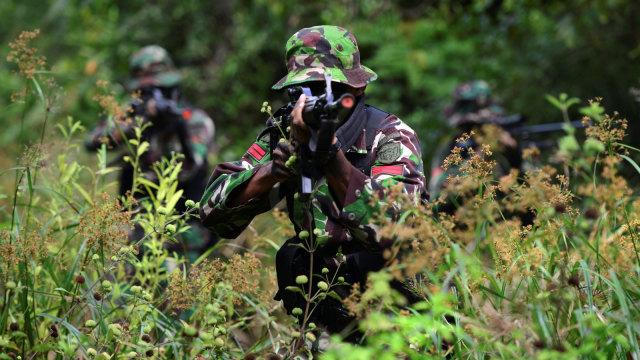 Ilustrasi latihan perang TNI, Tentara Nasional Indonesia