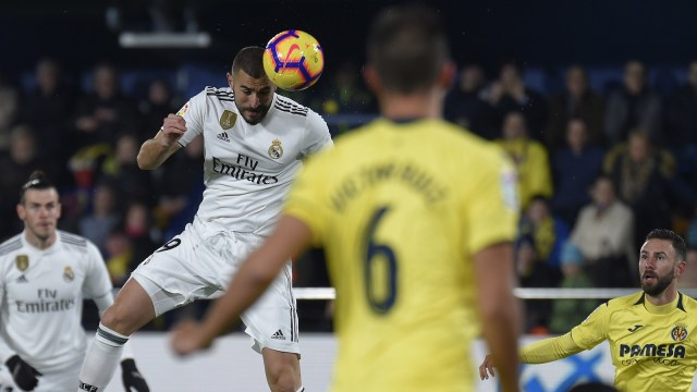 Villarreal vs Real Madrid, Karim Benzema