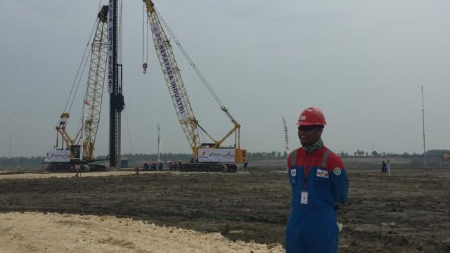 Lokasi proyek Gas Jambaran-Tiung Biru (J-TB)