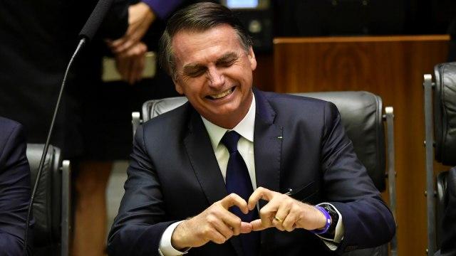 Presiden Brasil Jair Bolsonaro