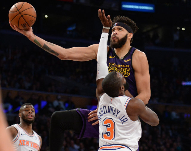 Lakers vs Knicks BUKAN COVER!!!!!!!!!!