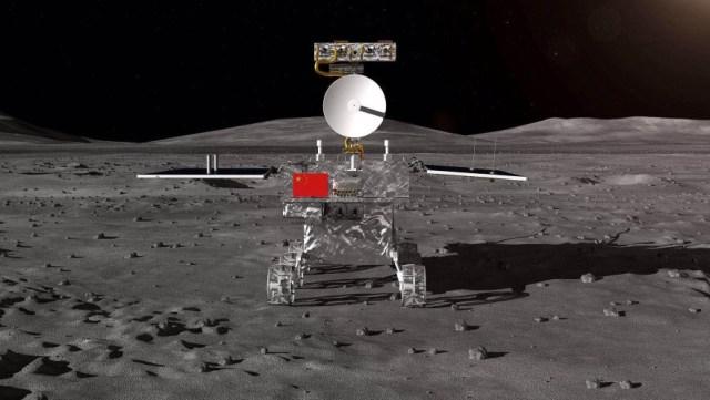 Permukaan sisi jauh bulan yang misterius