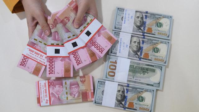 Dolar, Rupiah, Bank Mandiri, Rupiah Menguat
