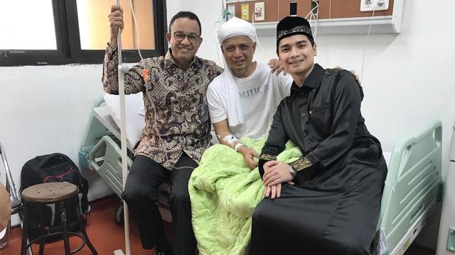 Ustaz Arifin Ilham Sakit, Dirawat di RSCM (89910)