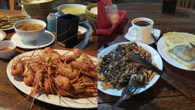 RM Chez Mama Cilacap, Pangandaran