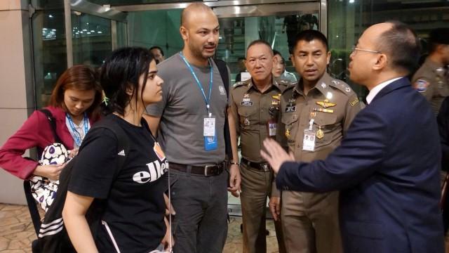Wanita Saudi Pencari Suaka di Thailand Telah Ditangani UNHCR (86441)