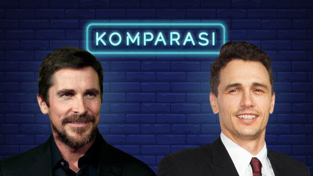 James Franco dan Christian Bale, Dua Aktor Terbaik di Golden Globes (132855)