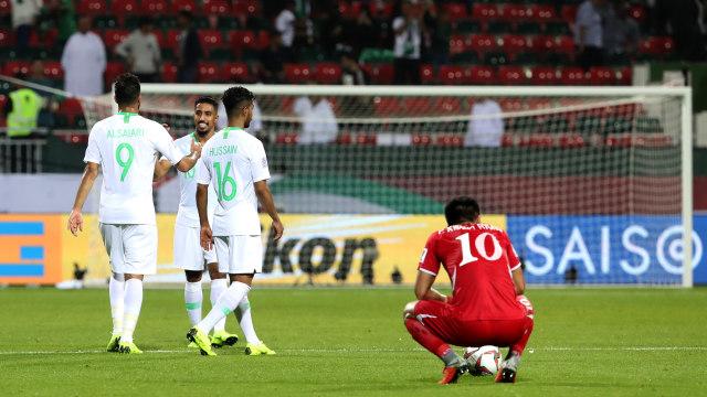 Piala Asia, Arab Saudi vs Korea Utara