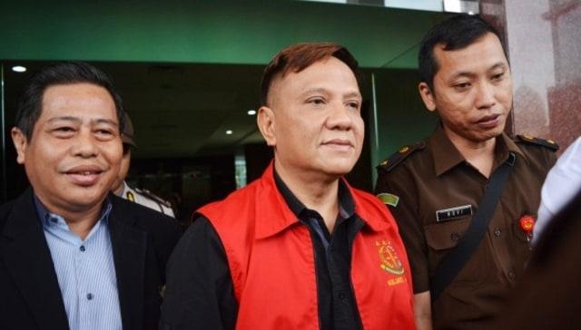 Mantan Ketua DPRD Surabaya  Wisnu Wardhana