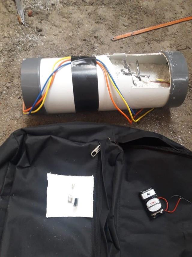 Bom pipa di rumah ketua KPK
