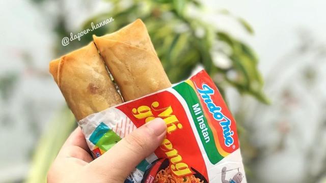 Resep Masakan: Renyahnya Indomie Berbalut Lumpia (199663)