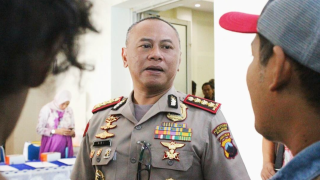 Kapolrestabes Semarang, Kombes Pol Abioso Seno Aji