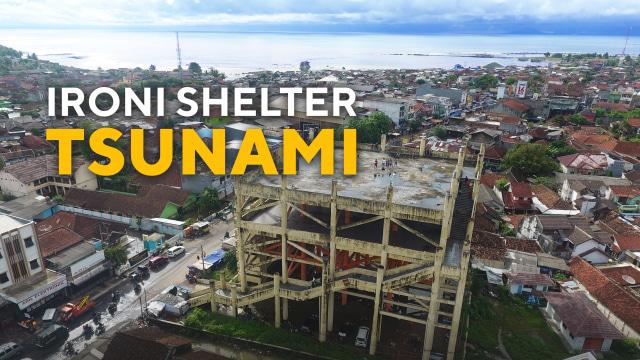 Nasib Shelter Tsunami Anyer: Dikorupsi, Mangkrak dan Jadi Tempat Mesum (24657)