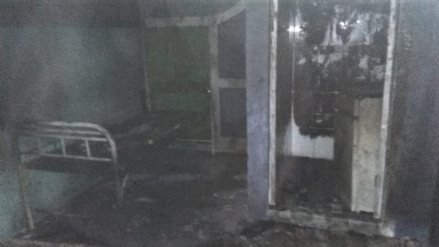 Rumah Sakit Jiwa (RSJ) Kebayakan, Kabupaten Aceh Tengah, kebakaran