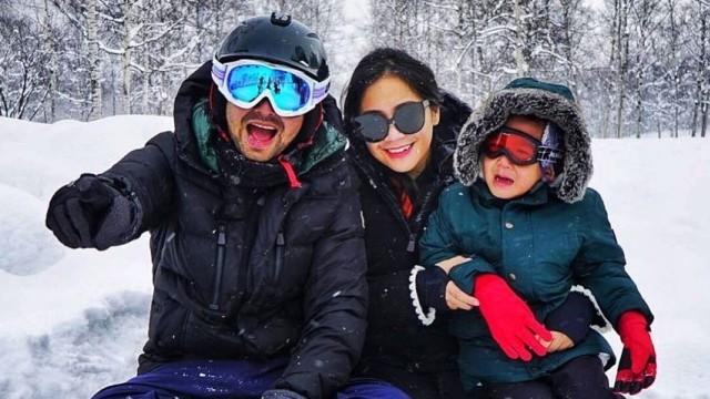 Raffi Ahmad, Nagita Slavina, Rafathar, liburan ke Jepang