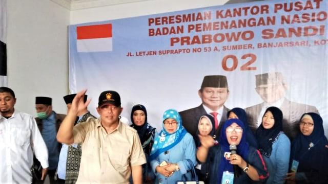 Peresmian, Kantor Pusat, BPN Prabowo-Sandi, Solo