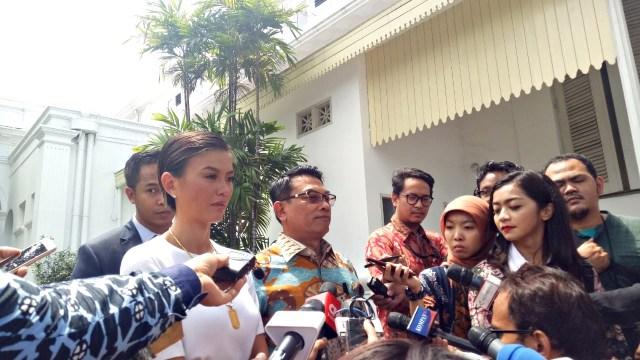 Agnes Monica, Istana Merdeka, Jakarta
