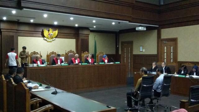 Sidang dakwaan Direktur Operasional Sinar Mas V Wilayah Kalimantan Tengah, Tipikor jakarta