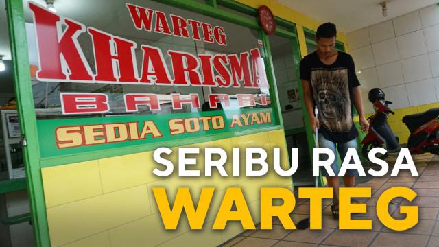 Kisah Sukses Warteg Kharisma Bahari dengan Ratusan Cabang di Jakarta (30547)