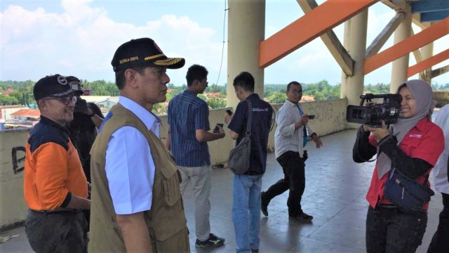 Kepala BNPB Ingin Shelter Tsunami di Pandeglang Dimanfaatkan Warga (1070)