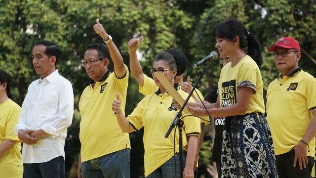 Jokowi, Presiden, Deklarasi Alumni UI untuk Jokowi-Amin di GBK