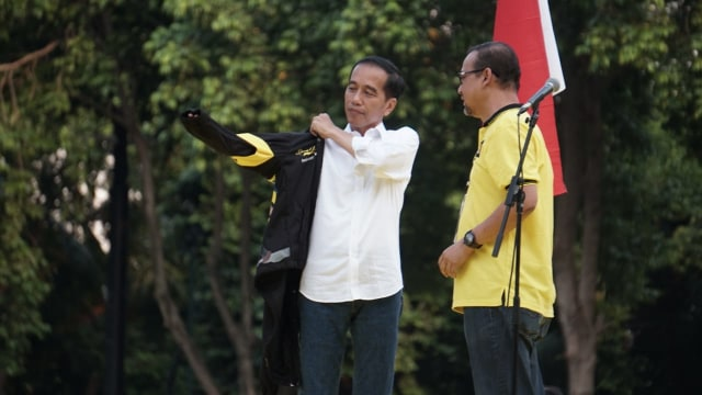 Jokowi, Deklarasi Alumni UI, Jokowi-Amin