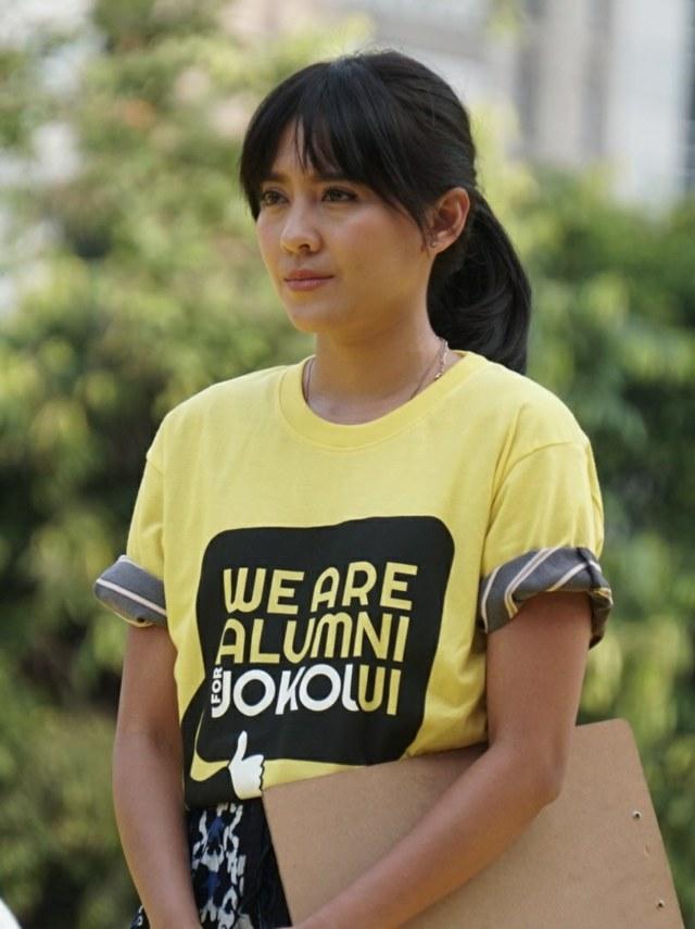 Lala Karmela, Alumni UI untuk Jokowi-Amin di GBK