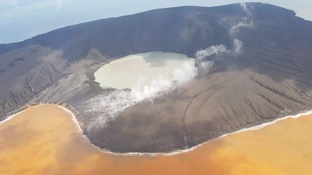Situasi Gunung Anak Krakatau, Minggu 13 Januari 2019