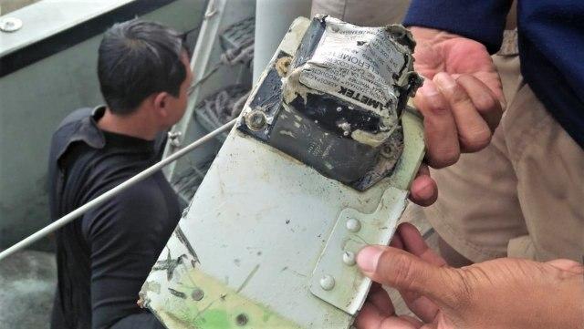 Foto: CVR Lion Air JT-610 Berhasil Diangkat dari Dasar Laut (81038)