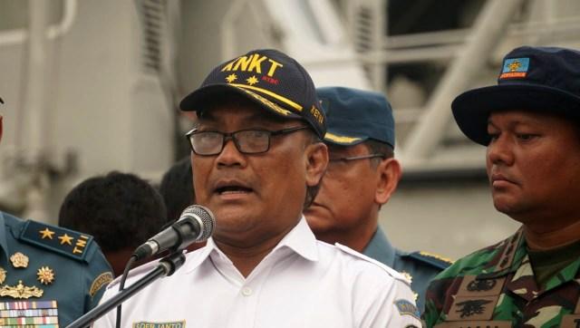Penyerahan CVR Lion AIR dari TNI-AL kepada KNKT, Ketua KNKT, Sorjanto Tjahjono