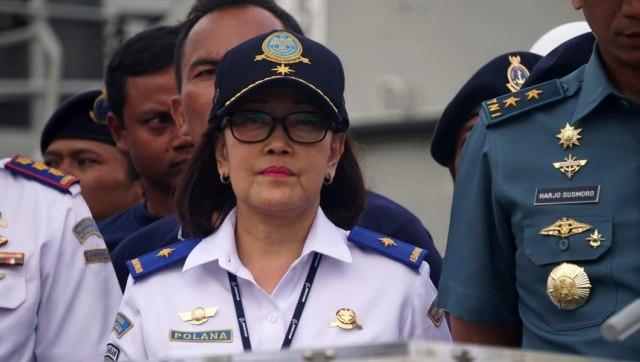 Penyerahan CVR Lion AIR dari TNI-AL kepada KNKT, Dirjen Perhubungan Udara Kemenhub, Polana