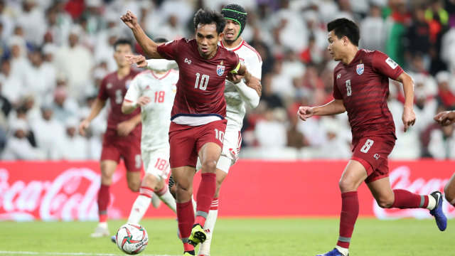 Piala Asia: Tahan Imbang UEA, Thailand Raih Tiket ke Babak 16 Besar (752404)