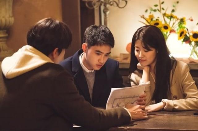 D.O dan Nam Ji Hyun di drama Eunjoo's Room