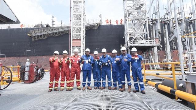Pertamina, Lifting Perdana Minyak Mentah Chevron, Blok Rokan