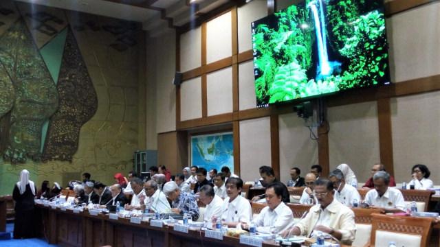 Komisi VII rapat dengar pendapat dengan eselon I Kementerian ESDM