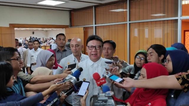 Menteri Dalam Negeri, Tjahjo Kumolo, Raker dengan Pimpinan DPR