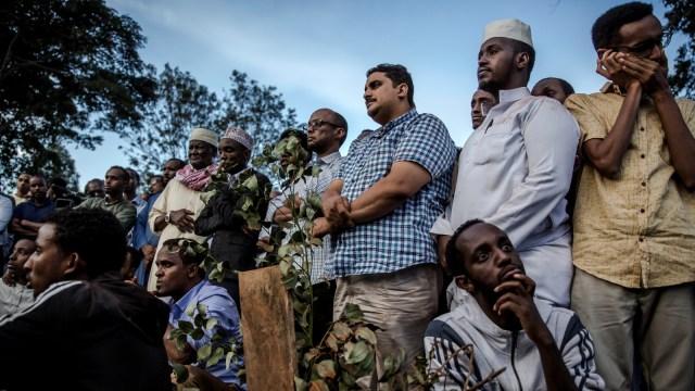 Shalat, Jenazah, Pemakaman Nairobi
