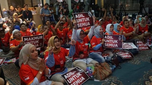 Foto: Keceriaan Debat Perdana Pilpres 2019 (123314)