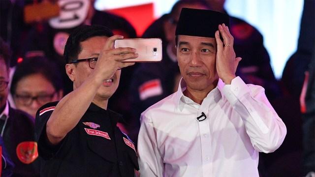 Foto: Keceriaan Debat Perdana Pilpres 2019 (123308)