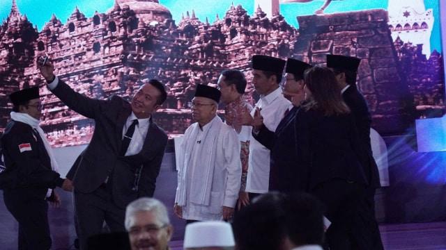 Foto: Keceriaan Debat Perdana Pilpres 2019 (123309)