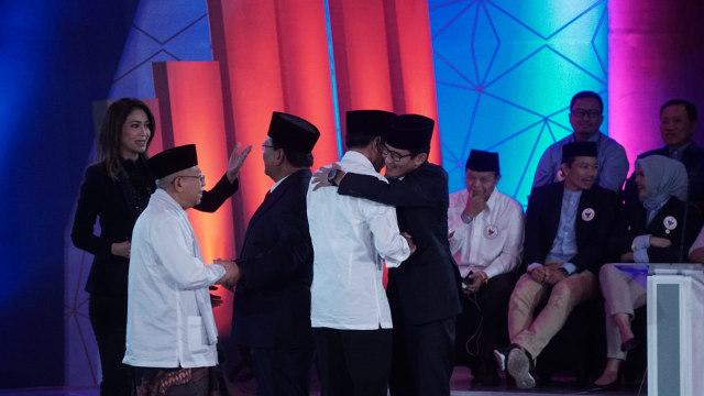 Foto: Keceriaan Debat Perdana Pilpres 2019 (123306)